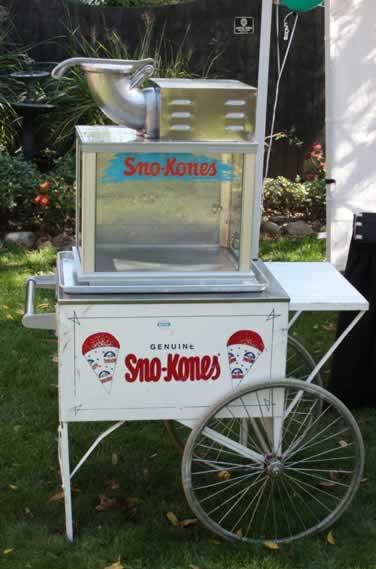 Sno cones machines